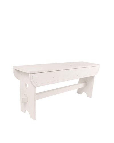 Esschert Design Large Farm Bench [Off White]
