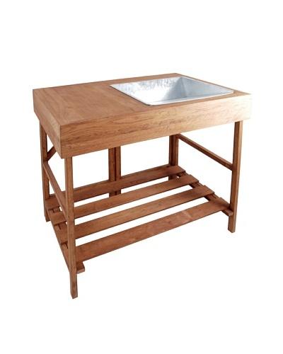 Esschert Design Hardwood Potting Table