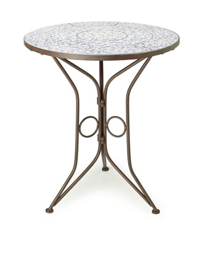 Esschert Design Aged Ceramic Bistro Table
