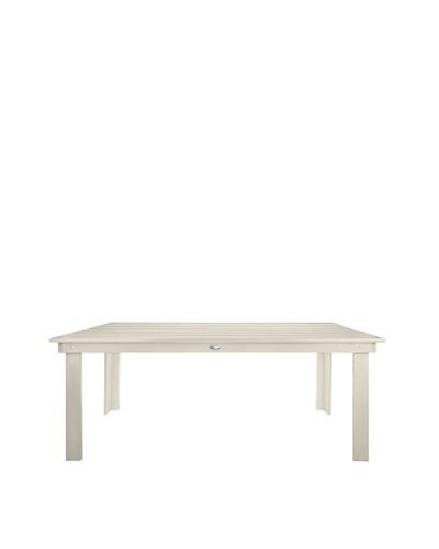 Esschert Design USA Rectangular Table, White