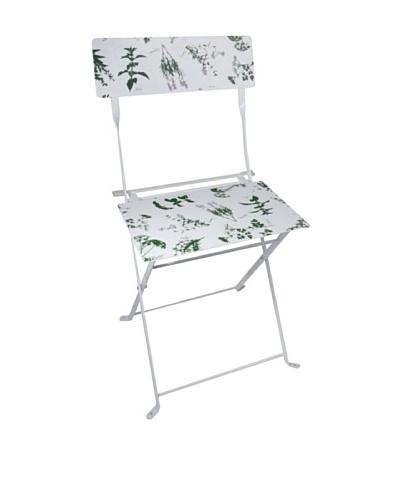 Esschert Design USA Herb Print Bistro Chair