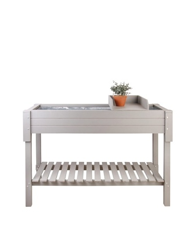 Esschert Design USA The Kitchen Garden Table, Grey