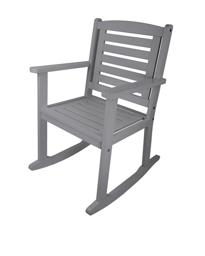 Esschert Design USA Rocking Chair, Grey
