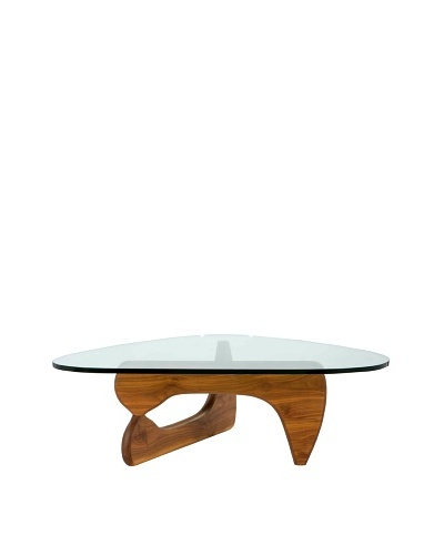 Euro Home Collection Tokyo Table, Walnut
