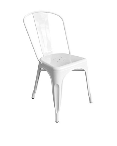 Euro Home Collection Garvin Chair, White