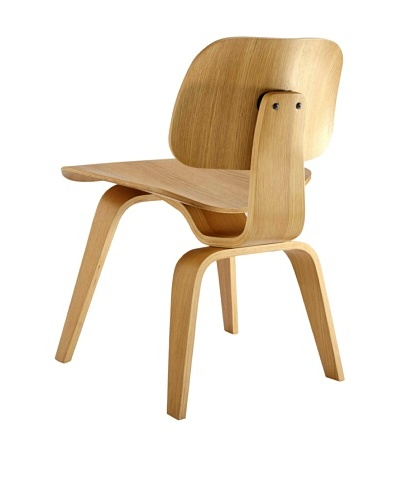 Euro Home Collection Richmond Chair, White Oak