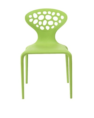 Euro Home Collection Lucy Chair, Green