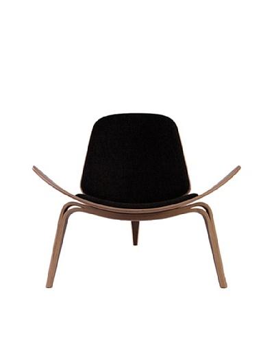 Euro Home Collection Chesapeake Chair, Walnut