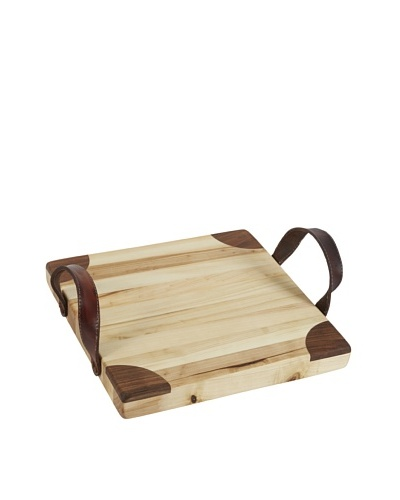 Europe2You Heritage Square Board with Leather Handles