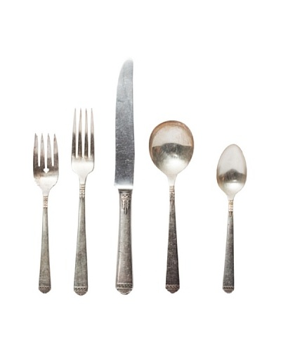 Europe2You Found Hotel Silver 5-Piece Place Setting