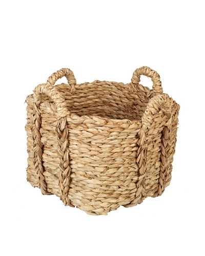Europe2You Small Rush Laundry Basket