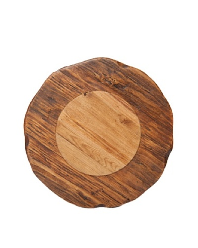 Europe2You Large Round Trivet With Hardwood
