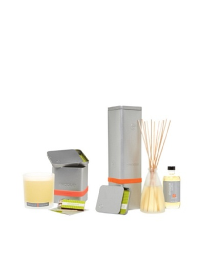 Evoque Orange Vanilla Soy Paraffin Candle and Diffuser Kit