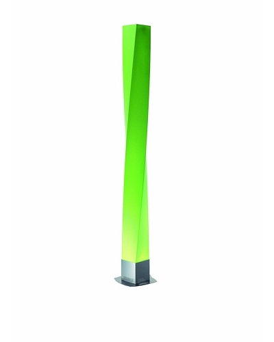 Fabbian Twirl Floor Lamp, Green