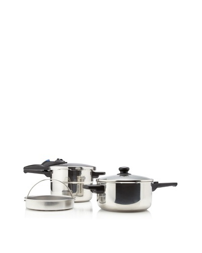 Fagor Express 5-Piece Pressure Cooker Set