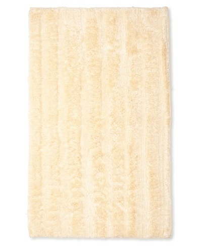 "Famous International Cotton-Blend Bath Mat, Light Honey, 21"" x 34"""