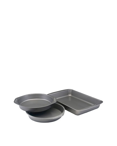 Farberware Nonstick Bakeware 3-Piece Cake Pan Set