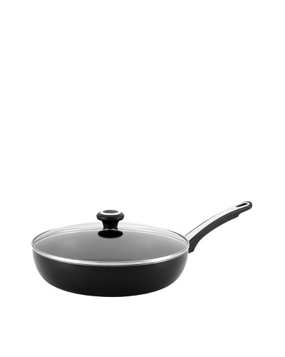 Farberware High Performance Nonstick 12 Covered Deep Skillet, Black