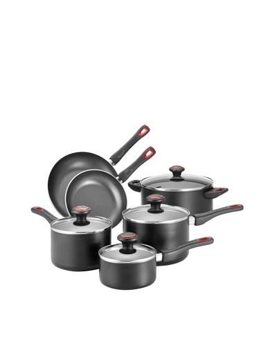 Farberware High Performance Nonstick 10-Piece Cooware Set [Black]
