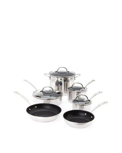 Farberware Millennium Stainless Steel Tulip Series 10-Piece Cookware Set