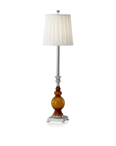 Feiss Sidonia Buffet Lamp, Amber