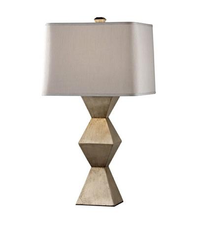 Feiss Lighting Dahlia Table Lamp, Silver