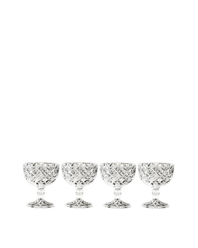 Fifth Avenue Crystal SMuirfield Set of 4 Pedestal CompotesAs You See