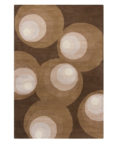 Filament Millicent Rug, Brown, 5' x 7' 6'