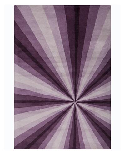 Filament Rickie Rug, Purple, 5' x 7' 6'
