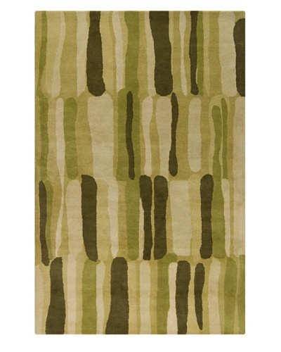 Filament Nerissa Hand-Tufted Wool Rug, Green, 5' x 7' 6