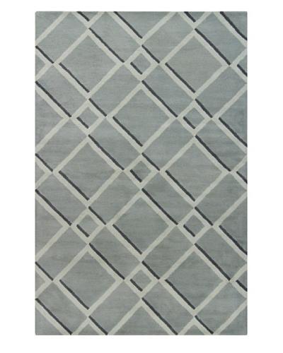 Filament Bernita Hand-Tufted Wool Rug, Grey, 5' x 7' 6