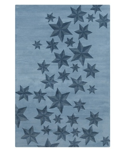 Filament Hermelinda Rug, Blue, 5' x 7' 6'