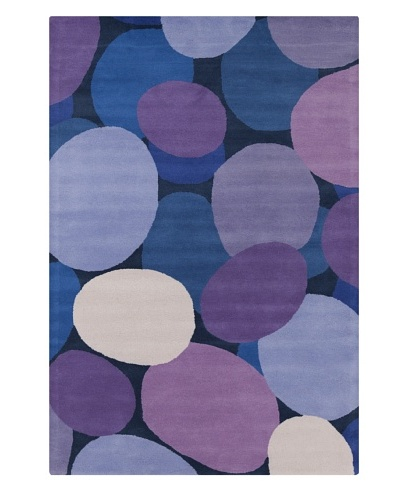"Filament Marti Rug, Purple/Blue, 5' x 7' 6""'"