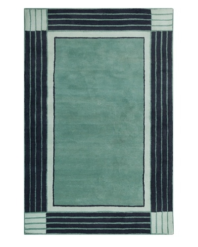 Filament Leisa Hand-Tufted Wool Rug, Teal, 5' x 7' 6