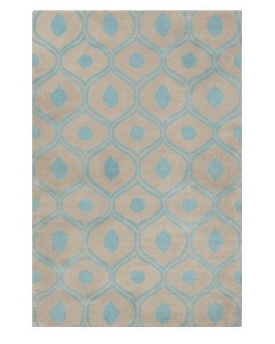 Filament Aleisha Hand-Tufted Wool Rug, Grey/Blue, 5' x 7' 6