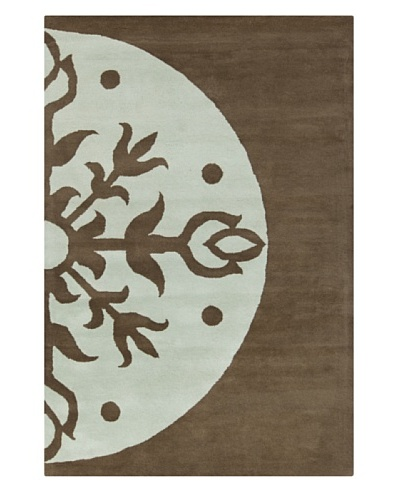 Filament Maya Hand-Tufted Rug, Blue/Brown, 5' x 7' 6