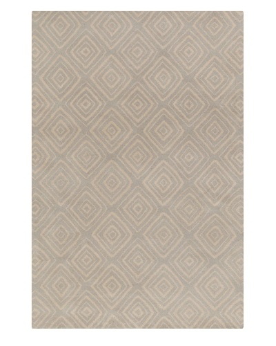 Filament Janay Hand-Tufted Wool Rug, Grey, 5' x 7' 6