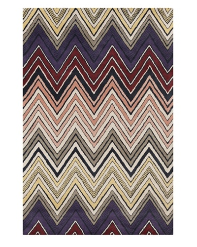 Filament Alysia Hand-Tufted Wool Rug, Multi, 5' x 7' 6