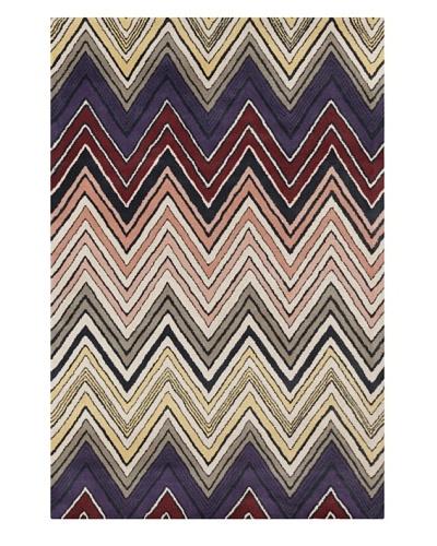 "Filament Alysia Hand-Tufted Wool Rug, Multi, 5' x 7' 6"""
