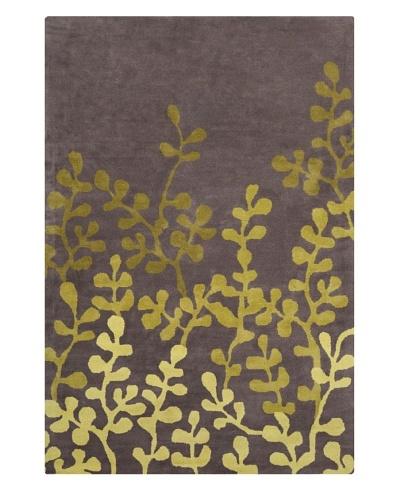 Filament Marisol Rug, Grey/Green, 5' x 7' 6