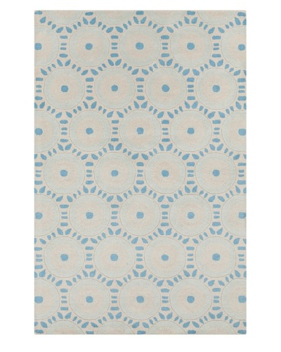 Filament Amina Hand-Tufted Wool Rug, Blue, 5' x 7' 6