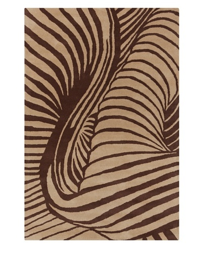 Filament Nan Rug, Brown/Light Brown, 5' x 7' 6'