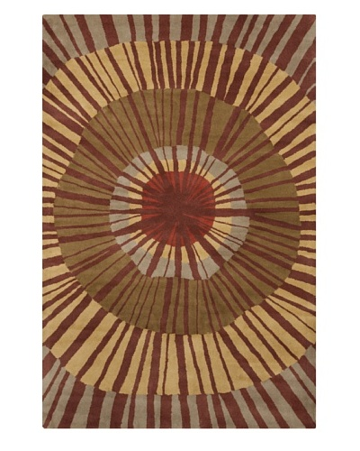 Filament Collene Hand-Tufted Wool Rug, Multi, 5' x 7' 6