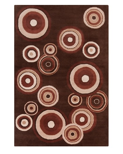Filament Mamie Rug, Brown, 5' x 7' 6'