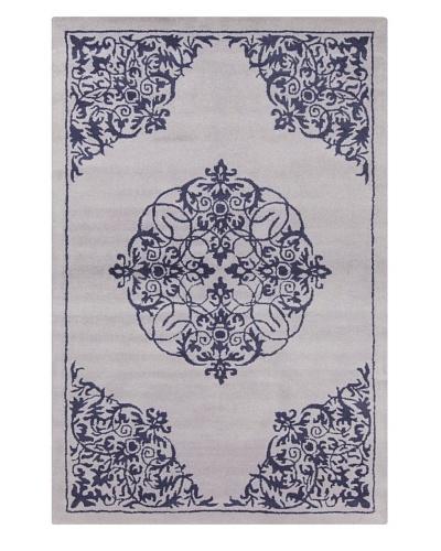 Filament Isaac Hand-Tufted Rug, Blue, 5' x 7' 6