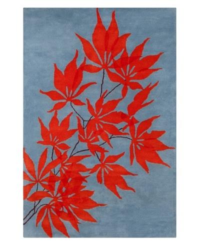Filament Verena Rug, Blue/Red, 5' x 7' 6