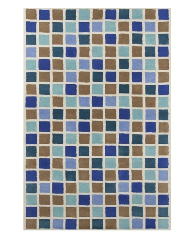 Filament Kris Hand-Tufted Wool Rug, Multi, 5' x 7' 6