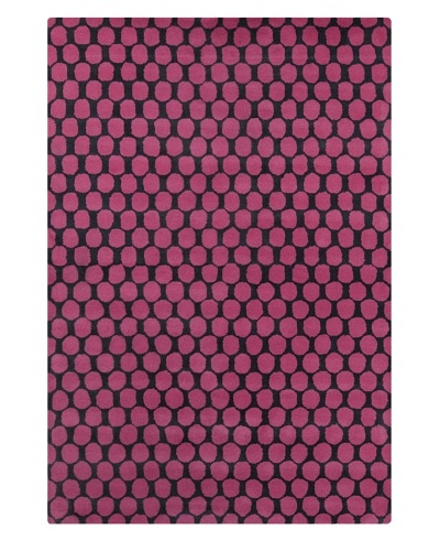 Filament Chantelle Hand-Tufted Wool Rug, Pink, 5' x 7' 6
