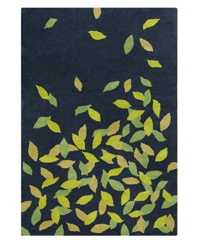 "Filament Julene Rug, Blue/Green, 5' x 7' 6"""