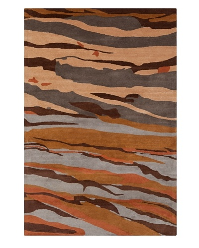 Filament Juana Rug, Brown, 5' x 7' 6'
